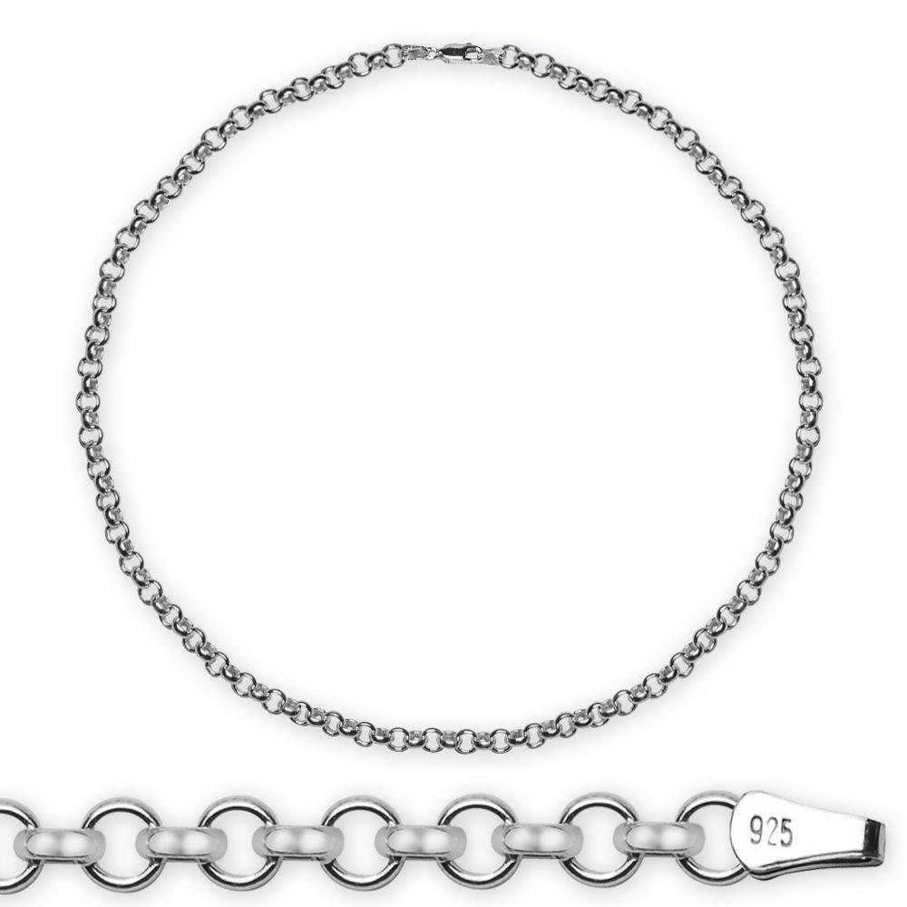 925 Ayar 50 Cm 130 Mikron Doç Gümüş Erkek Zincir Kolye