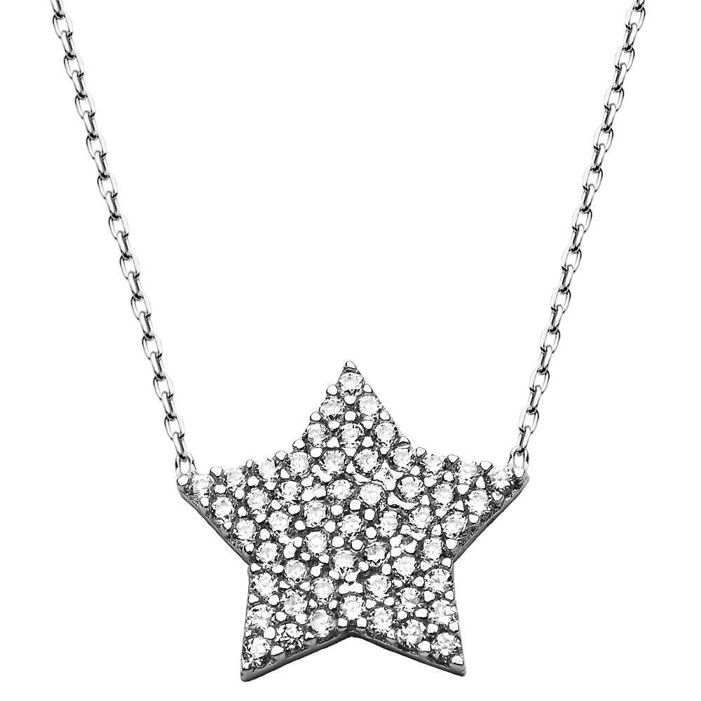 925 Ayar Gümüş Bayan Kolye
