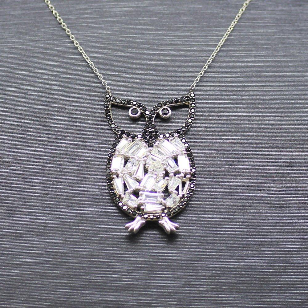 925 Ayar Gümüş Bayan Kolye (Model-49)