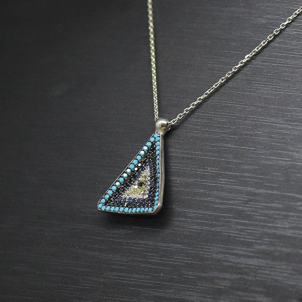 925 Ayar Gümüş Bayan Kolye (Model-62)