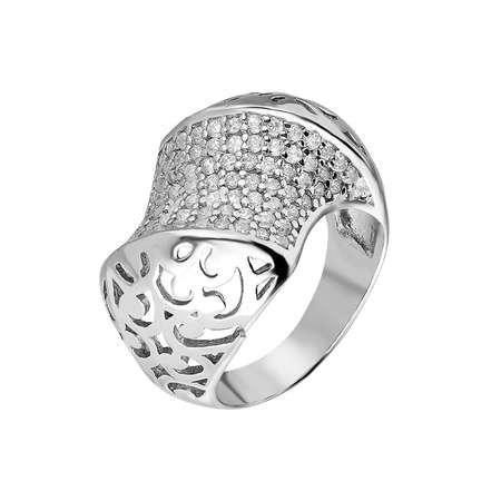 925 Ayar Gümüş Zirkon Taş İşlemeli Özel Tasarım Bayan Yüzük - Thumbnail