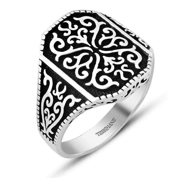 925 Ayar Gümüş Dekoratif Yüzük