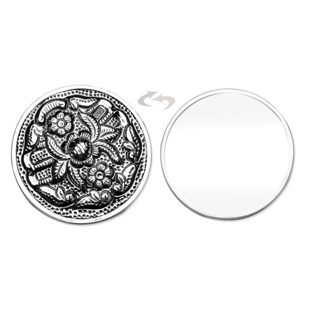 925 Ayar Gümüş El Aynası Ayna