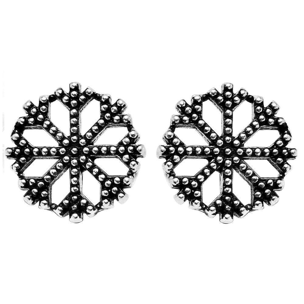 925 Ayar Gümüş Kar Küpe
