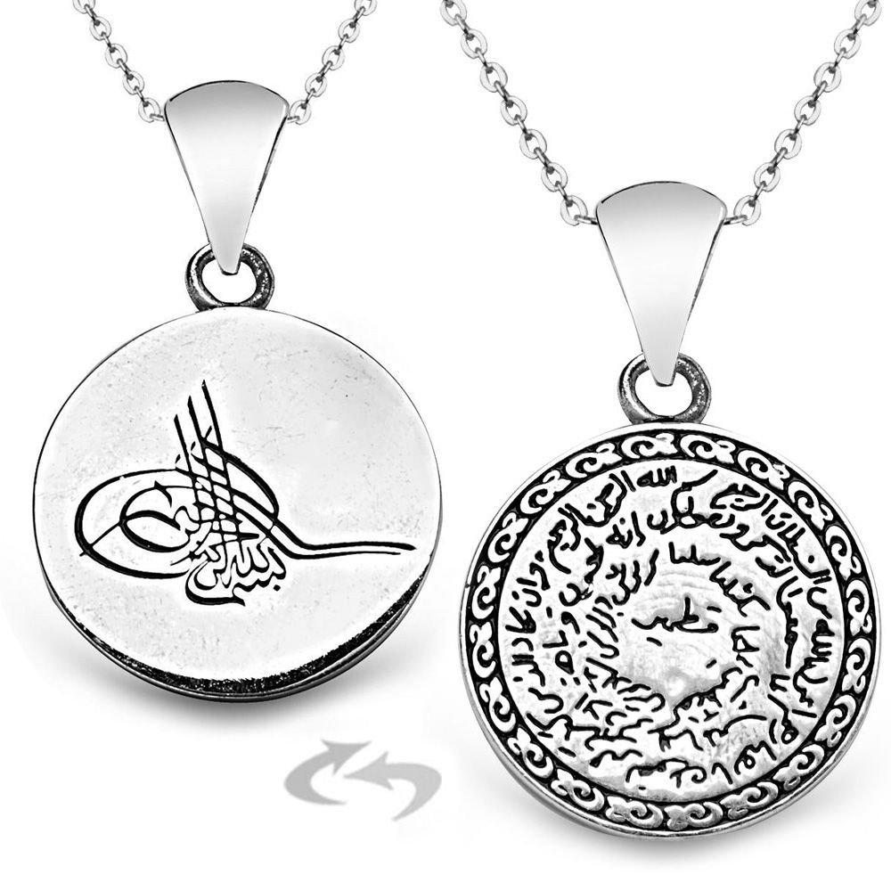 925 Ayar Gümüş Kıtmir Kolye