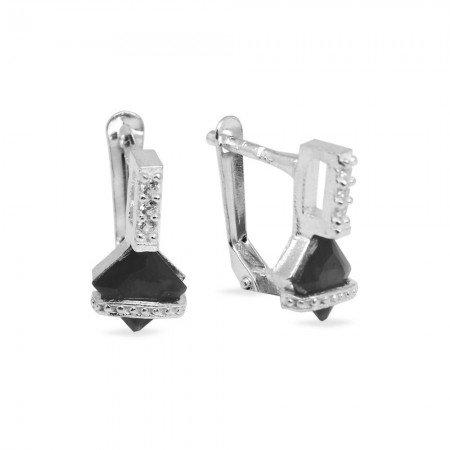 925 Ayar Gümüş Küpe (Model-46) - Thumbnail