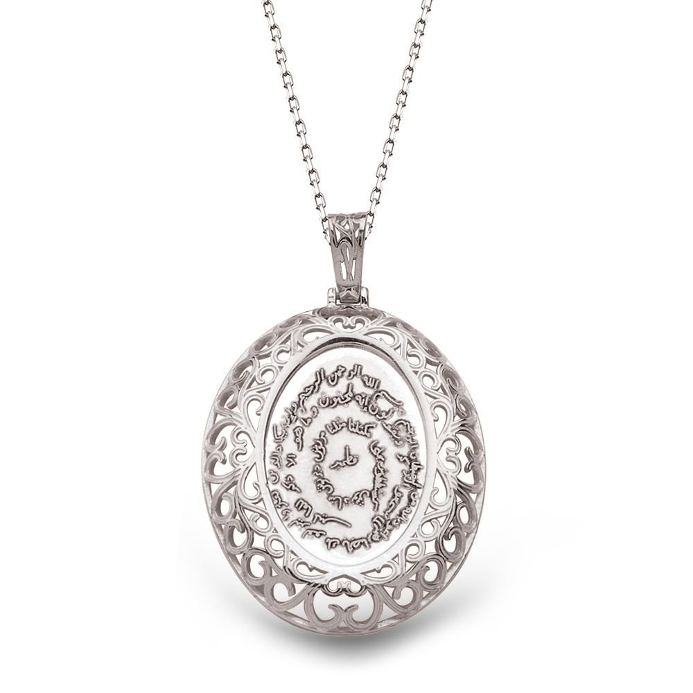 925 Ayar Gümüş Özel Tasarım Kıtmir Kolye