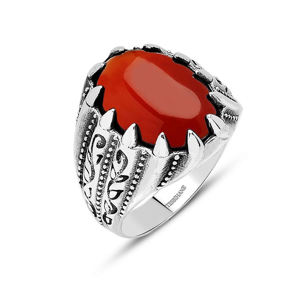 925 Ayar Gümüş Vezir-i Azam Yüzüğü