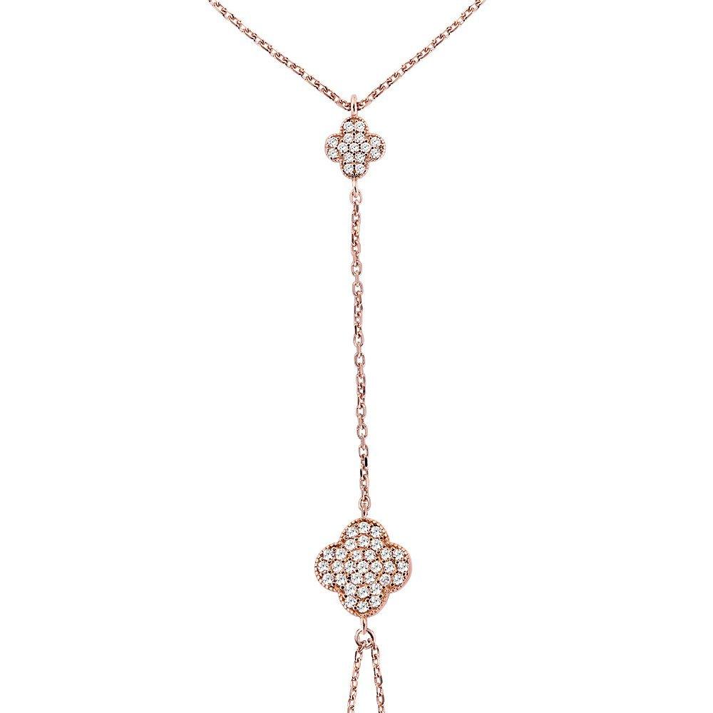 Çiçek Tasarım Zirkon Taşlı 925 Ayar Gümüş Şahmeran Bileklik