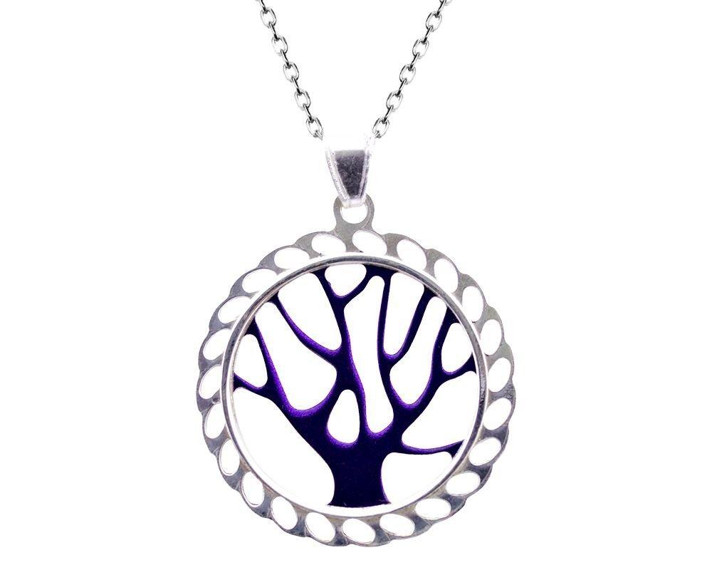 925 Gümüş Hayat Ağacı Kolye