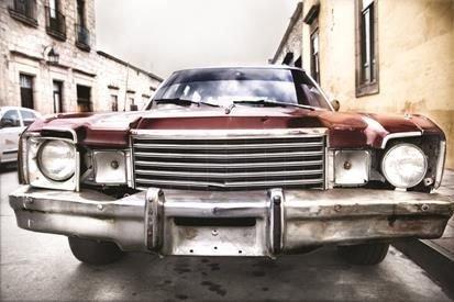 Araba Tasarım Kanvas Tablo (Model-4) - Thumbnail