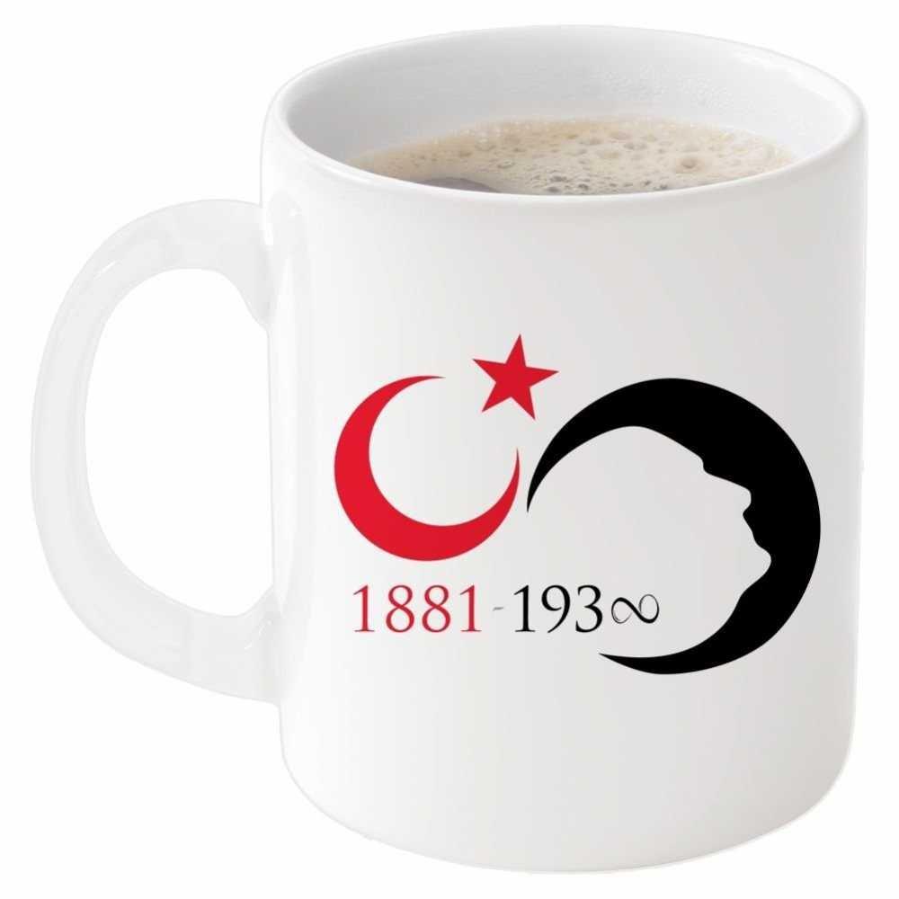 Ayyıldızlı 1881-193∞ Tarihli Beyaz Kupa Bardak