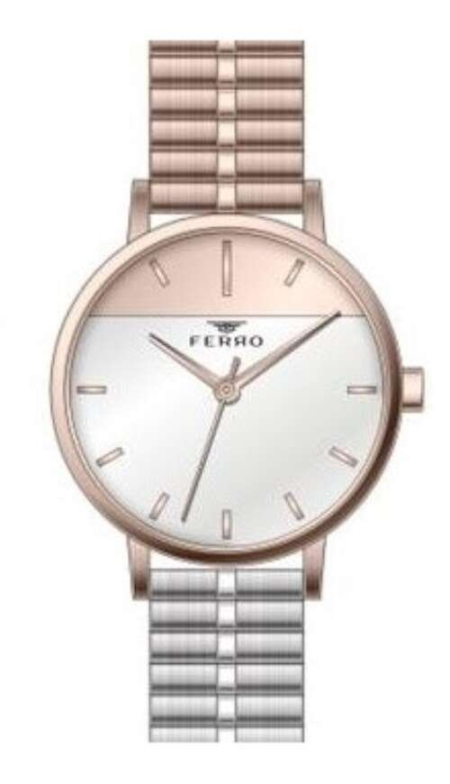 Bayan Ferro Metal Saat - F21043A-1068-E