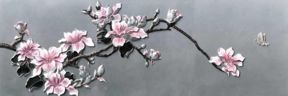Çiçek Temalı Kanvas Tablo