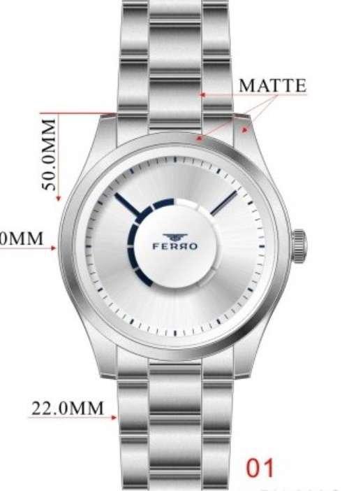 Erkek Ferro METAL Saat - F40071A-139-A