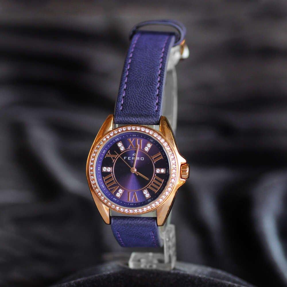 Ferro TH-F51336BWT Kadın Kol Saati