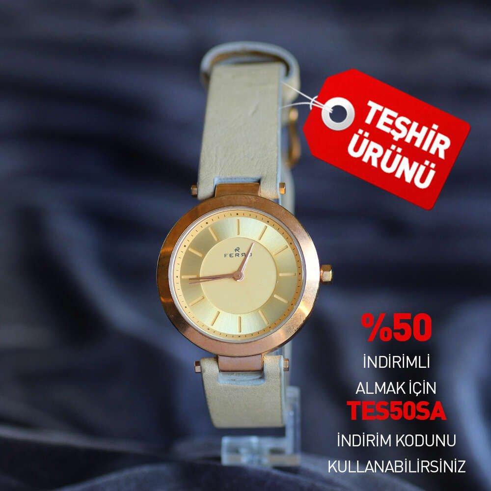 Ferro TH-F51395WT.1 Kadın Kol Saati