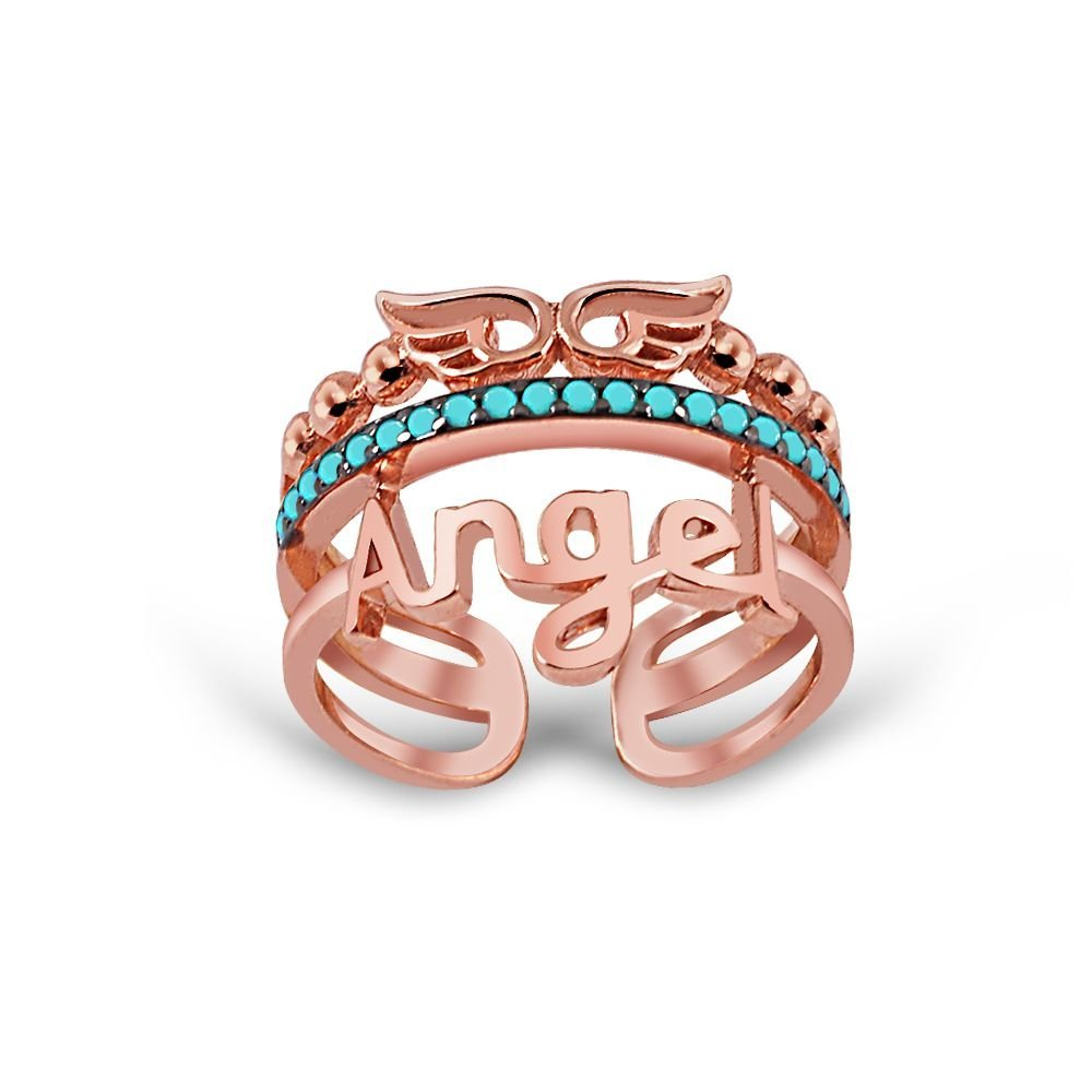 Gümüş Melek Yüzüğü