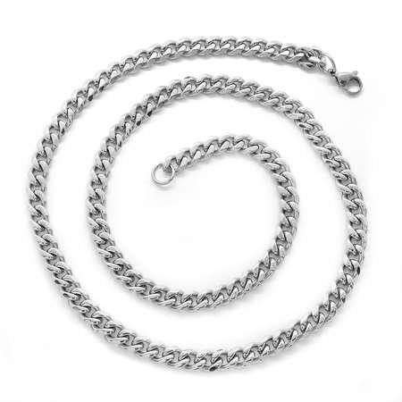 Gurmet Örgü 60 cm 317L Çelik Erkek Zincir Kolye - Thumbnail