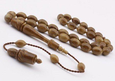 İbrahim Uysal Ustadan El Yapımı Mevlevi Model Kuka Tesbih - Thumbnail