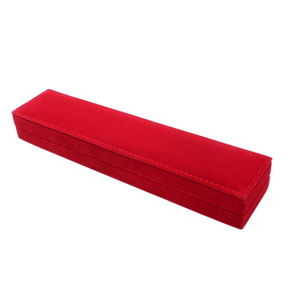 Kırmızı Renk Kadife Tesbih Kutusu