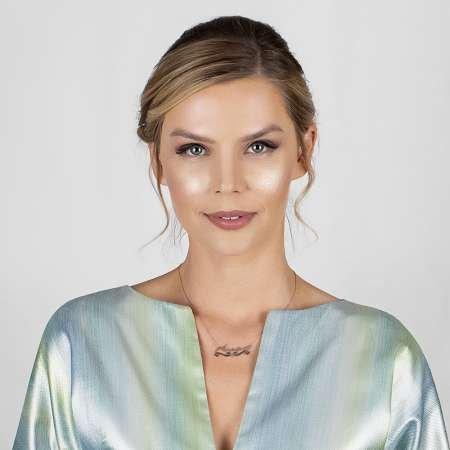 Kişiye Özel İsim Yazılı Rose Renk 925 Ayar Gümüş Bayan Kolye - Thumbnail