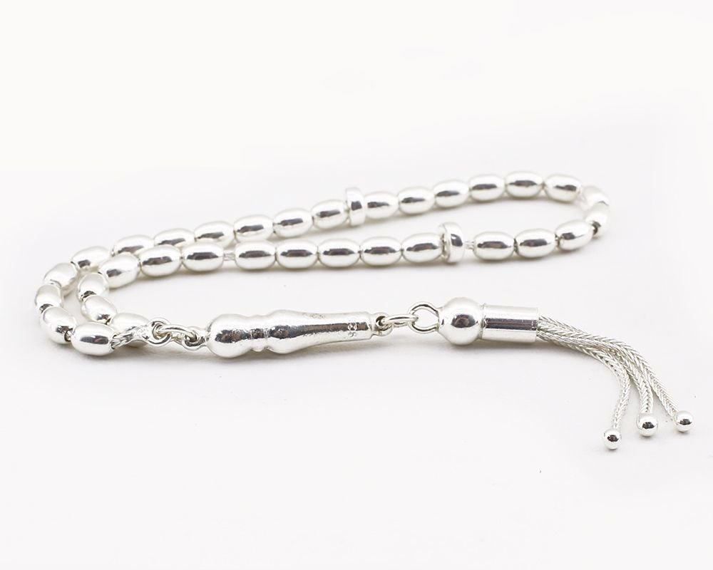 Mini Boy 925 Ayar Gümüş Tesbih