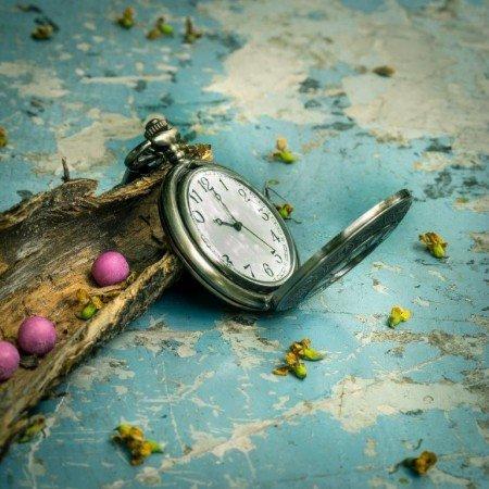 Saat Manzaralı Kanvas Tablo - Thumbnail