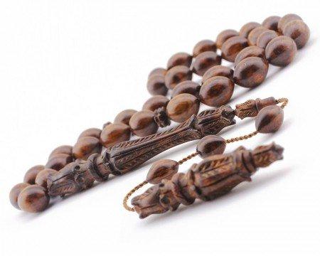 Selamet Şeker Ustadan El Yapımı Yılan AğacıTesbih - Thumbnail