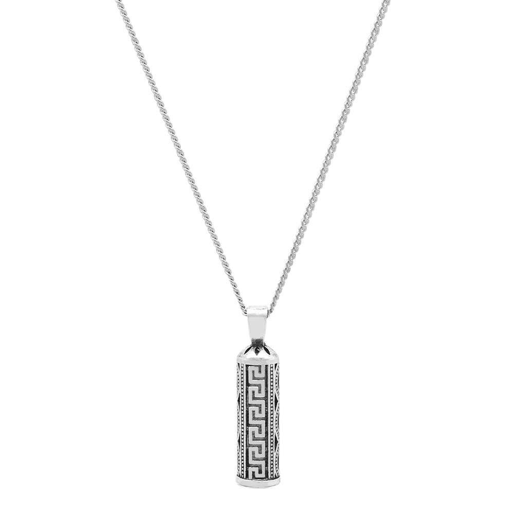 Şık Tasarım 925 Ayar Gümüş Cevşen Kolye