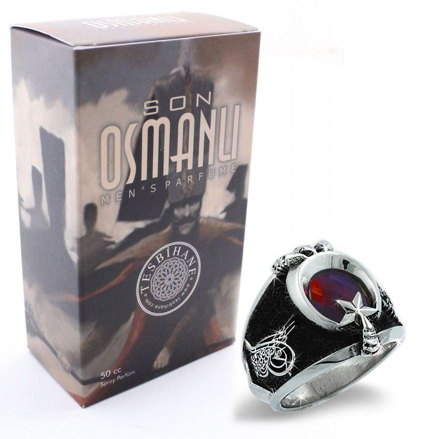 Son Osmanlı Parfüm ve Yüzük Seti (EY-SONOSMSET)