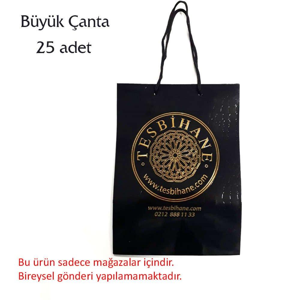 Tesbihane logolu büyük çanta (1Paket)