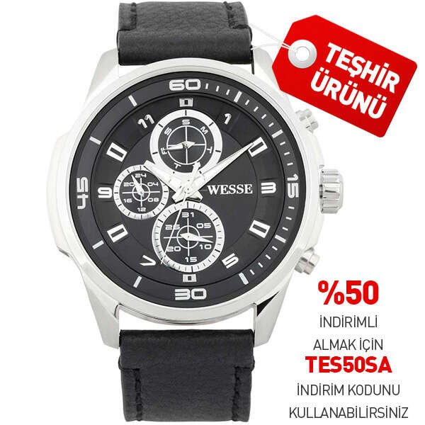 WESSE WWG4001-03L ERKEK KOL SAATİ