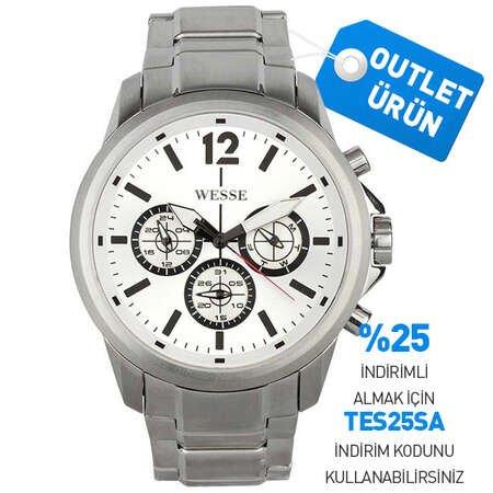 WESSE WWG4005-04SS ERKEK KOL SAATİ - Thumbnail