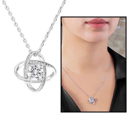 Zirkon Tektaşlı Samanyolu Tasarım 925 Ayar Gümüş 3'lü Takı Seti - Thumbnail